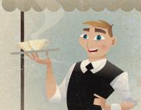 Café Gustav Poster