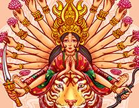 Durga And The Tiger's Curse