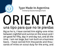 ORIENTA - Free Google Web