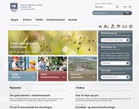 Webpage, Vesthimmerlands Kommune