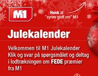 M1 Julekalender Facebook