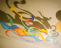和纸手工作品 handcrafts of 「Washi」