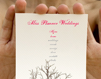 Miss Planner Weddings // Web Site