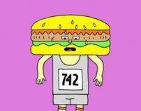 "The Virgin London Marathon ""Runners"""