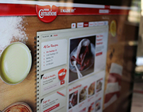 Nestle Carnation - Responsive web design