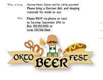 Oktoberfest Invites