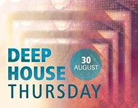 Deep House Thursday - Poster Design