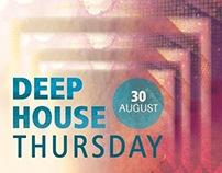 Deep House Thursday - Poster Design