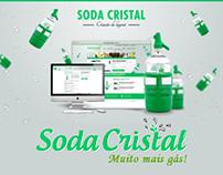 Soda Cristal - Muito mais gás!