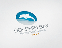 DOLPHIN BAY Family Baech Resort | Logo Redisign