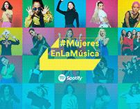 Spotify / #MujeresEnLaMúsica