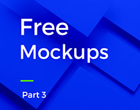 Free Mockups | Part 3