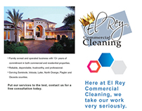 El Rey Commercial Cleaning Referral Brochure