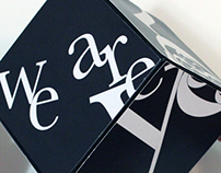 Typography Cube