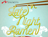 Restaurant Muramoto Late Night Ramen poster