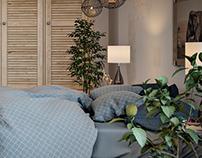 East Field Bedroom 3D Visualisation