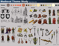 "Introduction to the Medieval Era Theme ""Visual Library"""