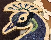 Wednesbury Museum - Peacock Installation