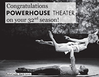 Arts Mid-Hudson Powerhouse Theater Ad