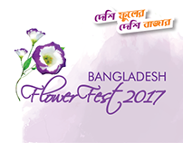 Social Media Promotion for Bangladesh Flower Fest 2017