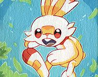 Pokemon Galar Starters