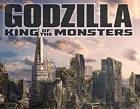 Godzilla KOTM Sn Francisco Concept Art