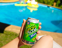 Limon Soda ZERO, retoques para Studio 7