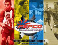"""Sales Catalog """"Mexican Soccer"""""""