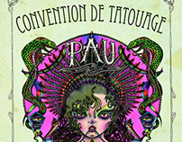"""Very Sud Ouest"" Tattoo Convention Poster"