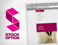 web : stock option