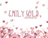 Emily - Free Gold Script Font