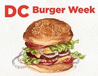 DC Burger Week at Via Umbria