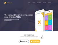 XChange App Website