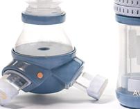 Nutriflex: flexible infant nutrition system