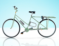 Wego: an adaptable electric bicycle for two