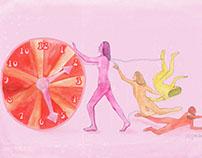 Editorial illustrations for Szajn magazine