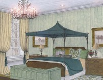 """Residentail Interiors - """"One Room - Two Ways"""""""