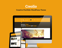 Creolio - Personal portfolio and microblog