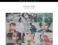 Website Customization: Chiara Daez