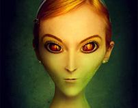 Alient portrait