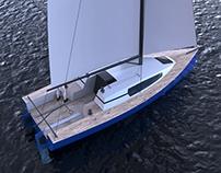 Class 950 race sailer