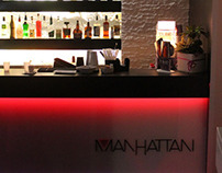 Manhattan Lounge Bar - Retail design