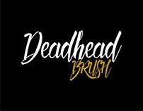 Deadhead Brush Typeface