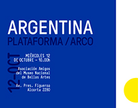 ARGENTINA PLATAFORMA/ARCO