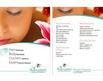 Spa & Beauty  Flyer, Brochure Design