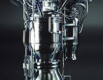 SpaceX Merlin Engine