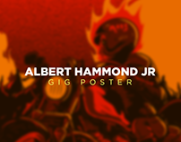 Albert Hammond Jr | Gig Poster