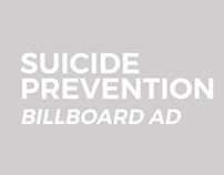 Suicide Prevention Billboard Ad