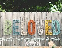 Custom Wedding Wall