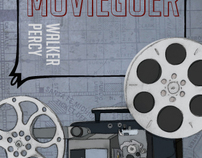 """The Moviegoer"" Book Cover"